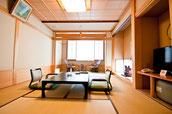 画像;趣のある和風旅館の客室