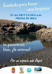 COUP, Lanzarote Limpia, Beach clean up, limpieza de playa, Lanzarote, SOS, Beach, Strand, Haria