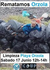 COUP, Lanzarote Limpia, Beach clean up, limpieza de playa