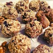 Energy Balls Zuckerfrei Datteln Haferflocken Rezept Snacks