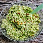 Cremiger Avocado Dip Guacamole Rezept Snacks