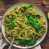 Soja Nudeln Pasta Avocado Pesto Rezept Hauptspeise