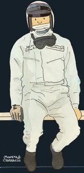Jackie Stewart by Muneta & Cerracín