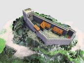 замок  Монтсегур, экскурсия в Монтсегур, гид по югу Франции