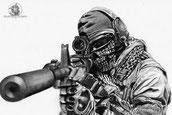 Mon dessin de Call of duty