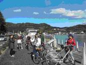 サイクリングで浜名湖を満喫」