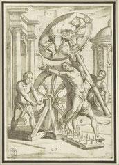 Das Rädern, eine Darstellung*