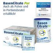 Basenpulver BasenCitrate Pur von Madena als Nahrungsergänzungsmittel