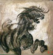 Modern Schilderij Paard