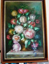 Klassiek Schilderij met Bloemen