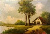 Klassiek Schilderij Landschap