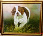 Klassiek Schilderij met Hond