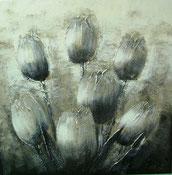 Schilderij Tulpen