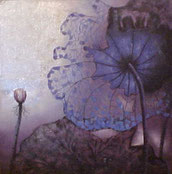 Schilderij Moderne Bloem