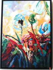Schilderij Moderne Bloemen
