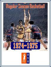 1974-'75 Season Cover