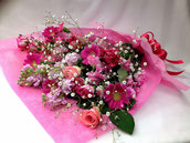 花束 3000 ピンク系