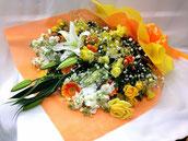 花束 5000 黄オレンジ系