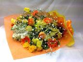 花束3000 黄オレンジ系