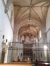 Iglesia del Monasterio de Santa Clara de Sigüenza, donde fui ordenado