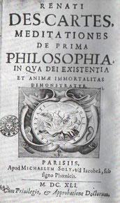 Descartes: Meditationen über die erste Philosophie