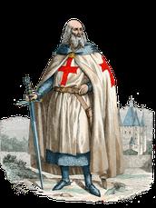 Jacques Molay, dernier Maître de l'ordre du Temple.