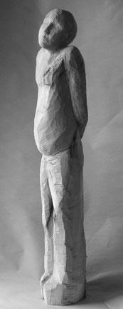 Georg, Linde, 15cm x 25cm x 110cm, 2008