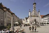 Rathausplatz von Kempten - Foto:  Kempten Tourismus