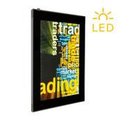 LED Leuchtrahmen zum Aufhängen