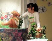 spectacle de marionnettes toute petite enfance Pilou le kangourou