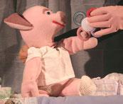 spectacle de marionnettes toute petite enfance Laisse tomber