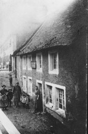 dudweiler, saarbruecken, bierverlag, armbrust, saarbruecker strasse, 1903
