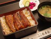 うな重 2,000円(税抜)
