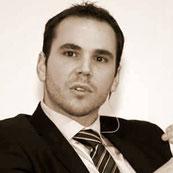Roccu Garoby-Colonna, vice président de l'Alliance Libre Européenne Jeune