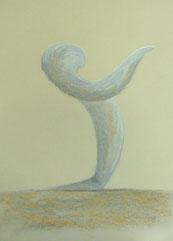 Donner - pastel sec 30x40cm-