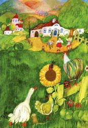 Kinderposter-Bauernhof