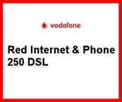 Red Internet & Pone 250 DSL der VDSL 250000 Tarif von Vodafone für den 250 MBit/s Internetanschluss