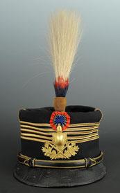 Képi foulard d'un colonel du génie vers 1910-1914