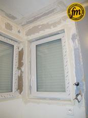 Pose fenêtre 1 battant grosfillex