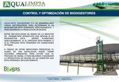 Biodigestores - biogas - biodigestor - optimizacion de operacion de biodigestores