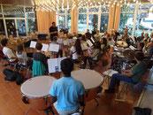 Orchesterprobe mit Malte Müller 12.08.2013