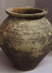 urne funéraire necropole gallo romaine croix guilllaume saint-quirin Necropole - Stèle funéraire