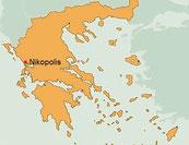 Region Nikopolis in Griechenland