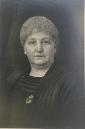 Sara Sichel, geb. Blum geb. 7.5.1863 in Würzburg (Jacobs 2. Frau)