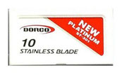 DORCO RED BLADES $10.99