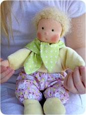 кукла блондин