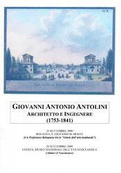 Giovanni Antonio Antolini, Architetto e Ingegnere (1753-1841) - Faenza, 26 settembre 2000