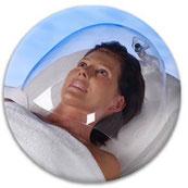 Sauerstoffbehandlung Gesicht