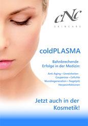 Werbeplakat von CNC ColdPlasma