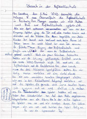 Bericht Karoline, Antonia, Jule, Lisia